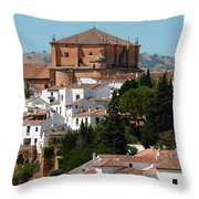 Ronda. Andalusia. Spain Throw Pillow by Jenny Rainbow
