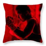 Ronda Jean Rousey Mma Throw Pillow