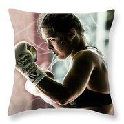 Ronda Rousey Mma Throw Pillow