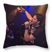 Ronnie Romero 1 Throw Pillow
