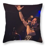 Ronnie Romero 10 Throw Pillow