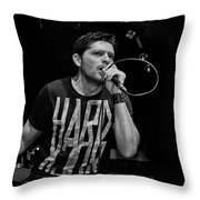 Ronnie Romero 16 Throw Pillow