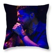 Ronnie Romero 18 Throw Pillow