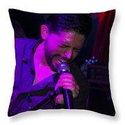 Ronnie Romero 20 Throw Pillow