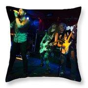 Ronnie Romero 24 Throw Pillow