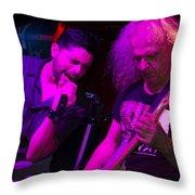 Ronnie Romero 25 Throw Pillow