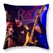 Ronnie Romero 3 Throw Pillow