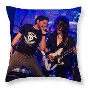 Ronnie Romero 38 Throw Pillow