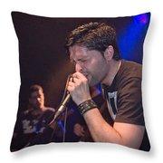 Ronnie Romero 4 Throw Pillow