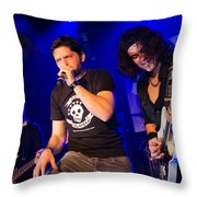 Ronnie Romero 43 Throw Pillow