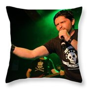 Ronnie Romero 46 Throw Pillow