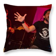 Ronnie Romero 47 Throw Pillow