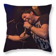 Ronnie Romero 5 Throw Pillow