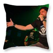 Ronnie Romero 51 Throw Pillow
