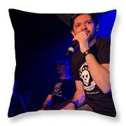 Ronnie Romero 52 Throw Pillow