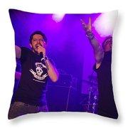 Ronnie Romero 62 Throw Pillow