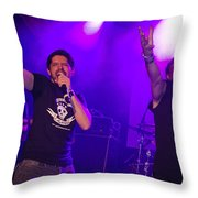 Ronnie Romero 63 Throw Pillow