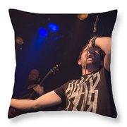 Ronnie Romero 7 Throw Pillow