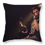 Ronnie Romero 9 Throw Pillow