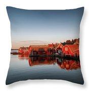 Ronnskar Sweden Throw Pillow