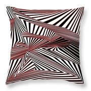 Rood Der Throw Pillow