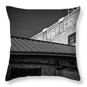Roof And Brick Throw Pillow