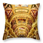 roof Paintings Throw Pillow