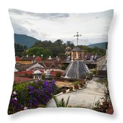 Roof Top View 2 Throw Pillow