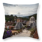 Roof Top View 6 Throw Pillow