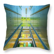 Rooftop Piping Throw Pillow