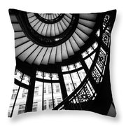 Rookery Stairwell Throw Pillow