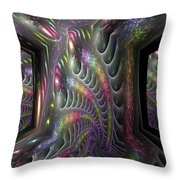 Room With A View Throw Pillow