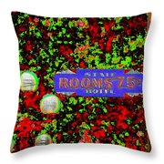 Rooms For Rent Throw Pillow