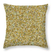 Rooms Of Gold Throw Pillow