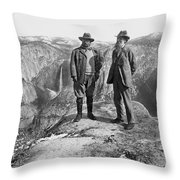 Roosevelt & Muir Throw Pillow