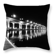 Roosevelt Bridge, Stuart Fl Throw Pillow