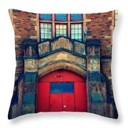 Roosevelt School Throw Pillow