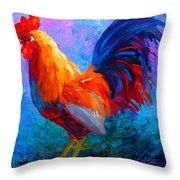 Rooster Bob Throw Pillow