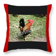 Rooster Living Throw Pillow