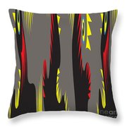 Rooster Morning Wake Up Call Throw Pillow