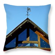 Rooster Weather Vane Throw Pillow