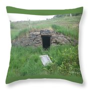 Root Cellar Throw Pillow