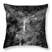 Root Creek Falls Throw Pillow