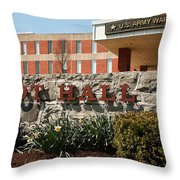 Root Hall 1 Throw Pillow