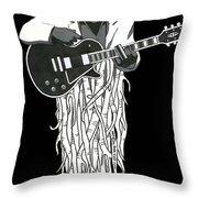 Root Music 2 Throw Pillow