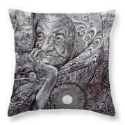Rooted In The Ground Of Being Throw Pillow