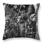 Roots Help Ripe Throw Pillow