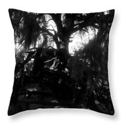 Roots Of Life Throw Pillow