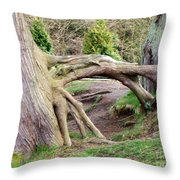 Roots Of Strength Throw Pillow