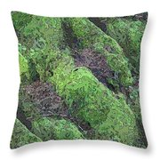 Roots Of The Ages Throw Pillow